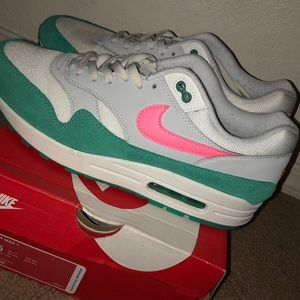 2b96738c7379 Nike Shoes - Nike air max 1 watermelon south beach🔥